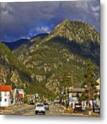Frisco By The Mountain Metal Print