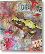 Frog Prince Metal Print by Jennifer Kelly