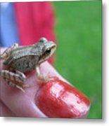 Frog The Prince Metal Print