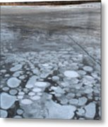 From Bubbles To Mountains Metal Print