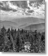 From Clingmans Dome Metal Print