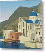 From Greece Metal Print