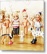 From Life Of Toys Metal Print