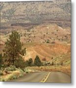 From Mitchell To Smith Rock  Metal Print