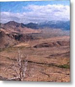 From Monitor Pass Metal Print