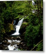 From Out Of The Smoky Mountains Metal Print