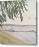 From Park To Pier Metal Print