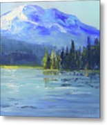 From Sparks Lake Metal Print