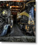 From Steam To Electric Metal Print
