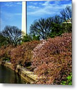 From The Basin To The Monument Metal Print