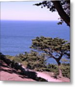 From The Cliff Of Lands' End 02 Metal Print