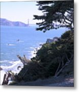 From The Cliff Of Lands' End 04 Metal Print