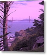 From The Cliff Of  Lands End 06 Metal Print