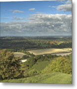 From The Downs To The Weald Metal Print