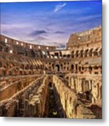 From The Floor Of The Colosseum Metal Print