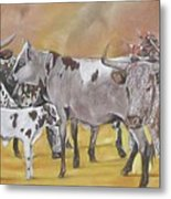 From The Grazing Fields Metal Print
