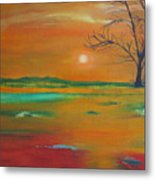 From The Hills To The Plains Metal Print