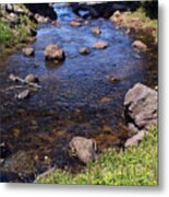 From The Mountains To The Sea Metal Print