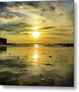 From The Surface Metal Print