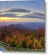 From The Top Of Brasstown Bald Metal Print