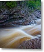 From The Top Of Temperence River Gorge Metal Print