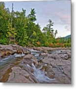 From The Top Of The Falls Metal Print