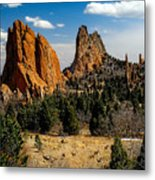 From Where I Am Metal Print