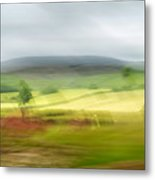 heading north of Yorkshire to Lake District - UK 1 Metal Print