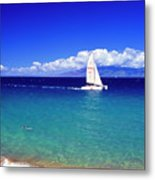 Maui Hawaii Frommer's 2000 Maui Cover Metal Print