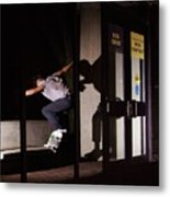 Front Crook Reflection Metal Print