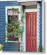 Front Door Three Metal Print