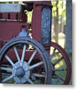 Front End Of A Mccormic Deering Tractor Metal Print