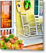 Front Porch 2 Metal Print