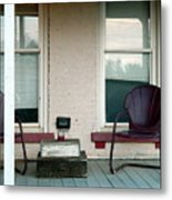 Front Porch In Moscow Ohio Metal Print