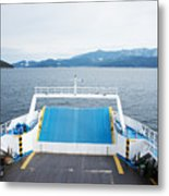 Front Side Of A Ferry  Metal Print