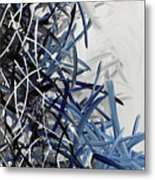 Frost Lined Intensions Metal Print