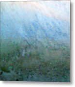 Frost On North Facing Window Metal Print