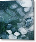 Frosted Bubbles Metal Print