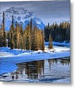 Frozen Jasper Paradise Metal Print