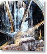 Frozen - John P. Cable Grist Mill Metal Print