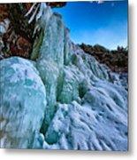 Frozen Kaaterskill Falls Metal Print