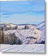 Frozen Valley 2 V3 Metal Print