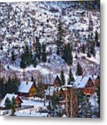 Frozen Village V2 Metal Print
