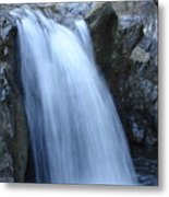 Frozen Water Metal Print
