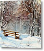 Frozen  View Metal Print