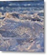Frozen Wave Metal Print