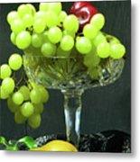 Fruit And Crystal. Metal Print