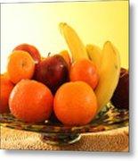 Fruit Arrangement Metal Print