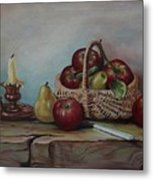 Fruit Basket - Lmj Metal Print
