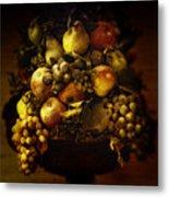 Fruit Basket Metal Print